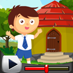 G4K Cute School Boy Rescue Game Walkthrough